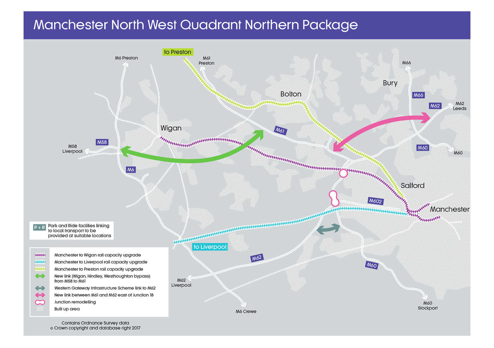 Manchester North West Quadrant Northern Package