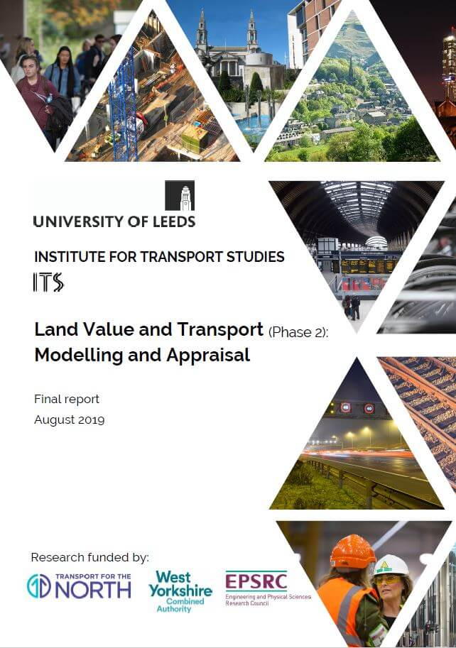 Land Value report cover