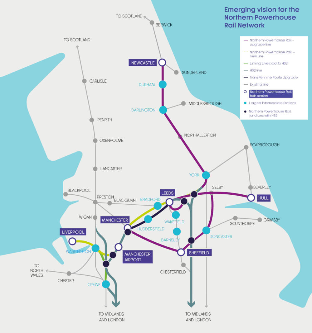 Northern Powerhouse Rail | Transport for the North ...