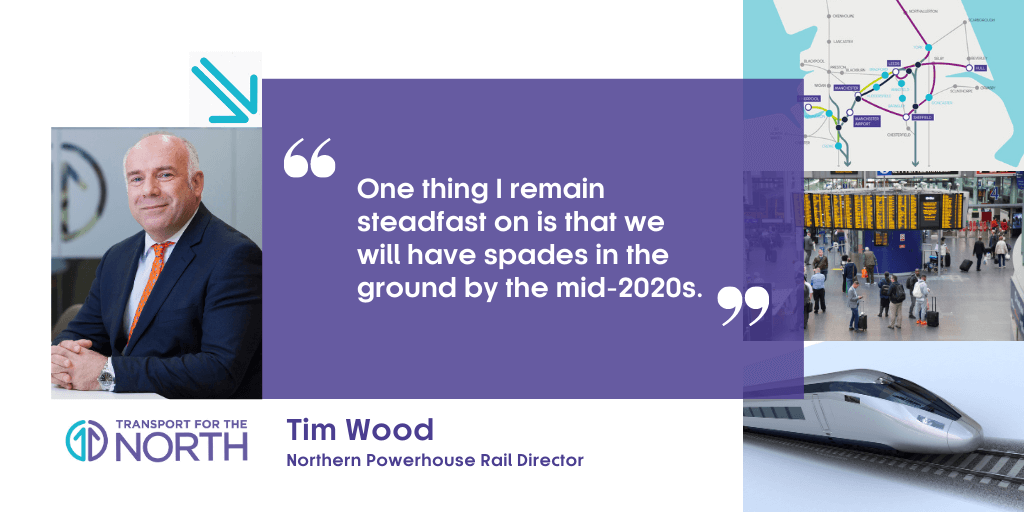 Transport for the North's Tim Wood told the Westminster Social Policy Forum he remains committed to finalising the case for NPR